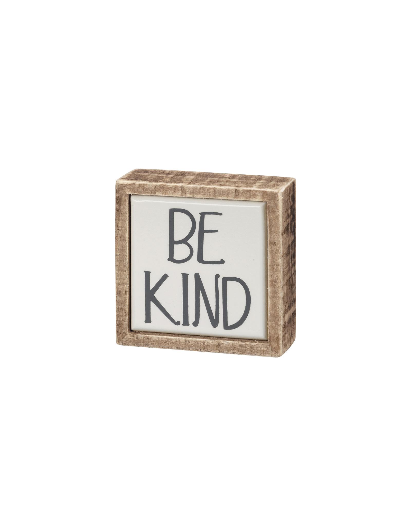 Be Kind Box Mini Sign