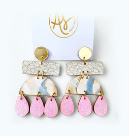 Audra Style Shelly Earrings - New Neutral
