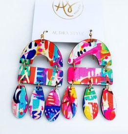 Audra Style Elizabeth Earrings - Abstract