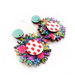 Audra Style Daisy Earrings - Blackrose Floral