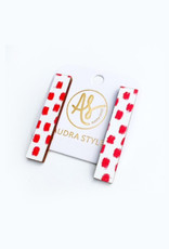 Audra Style Beatrice Earrings - Red Dot