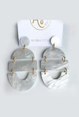 Audra Style Bela Earrings - Pearl