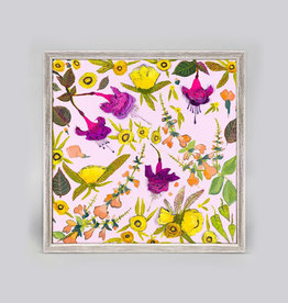 Greenbox Art Sundrops, Sage & Fuchsias Mini Framed Canvas