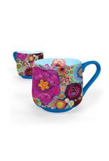 Greenbox Art Blooms on Spring Green Mug