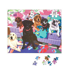 Greenbox Art Dog Tales Pup Pals Puzzle