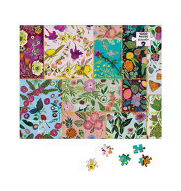 Greenbox Art Wildflowers Patchwork Puzzle