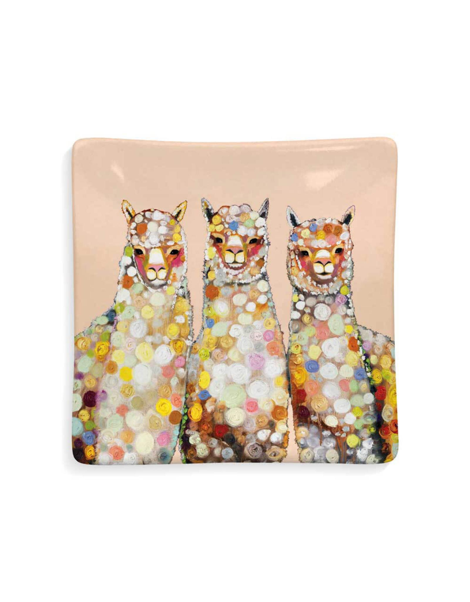 Greenbox Art Alpaca Trio Dish