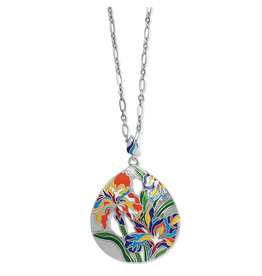 Brighton Iris Bloom Convertible Necklace