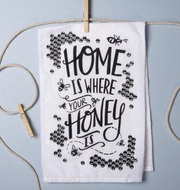 Honey Is Where Dish Towel
