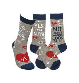 Don't Wanna Look Socks