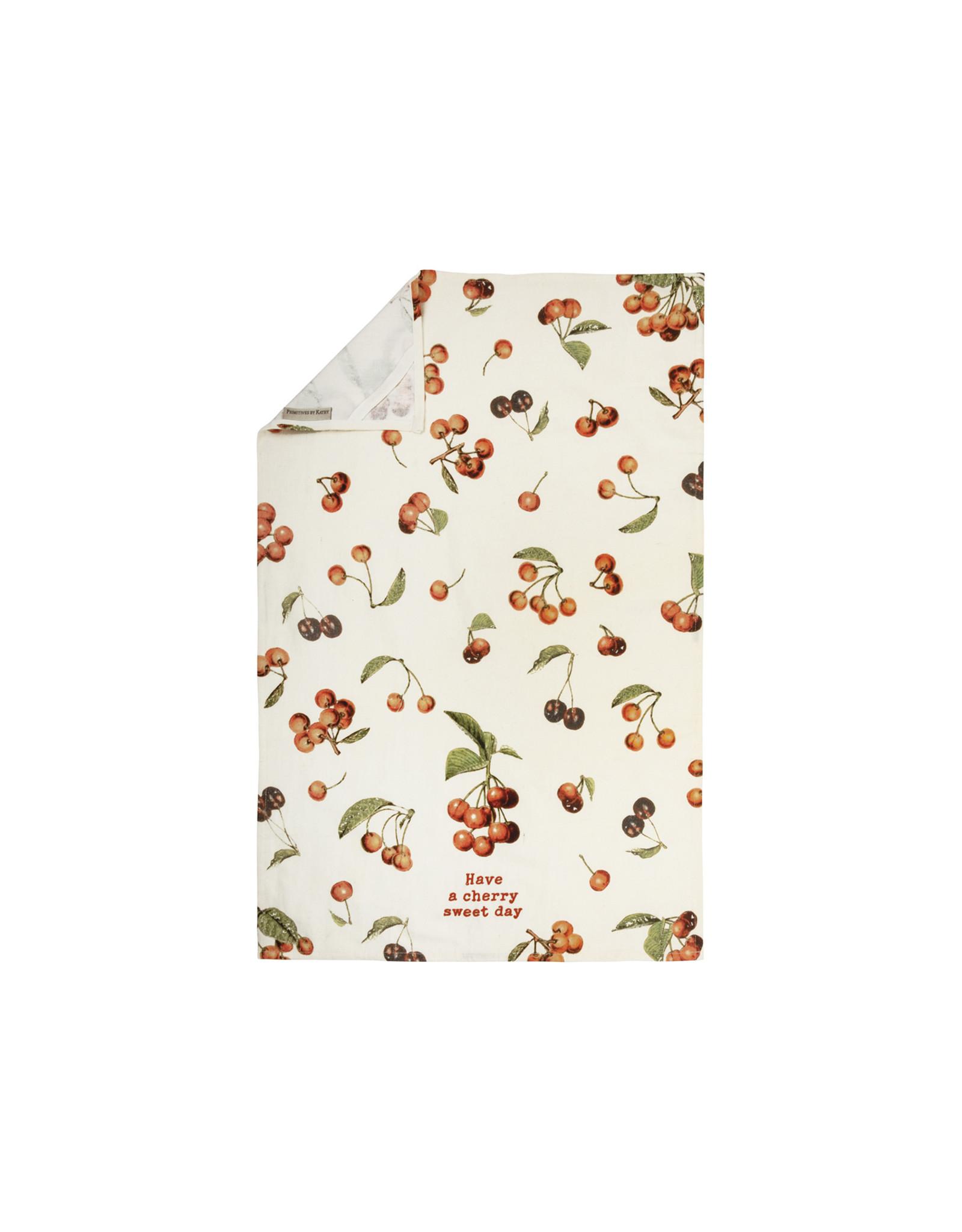 Cherry Sweet Day Dish Towel