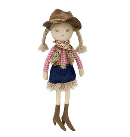 Mon Ami Clementine Cowgirl Doll