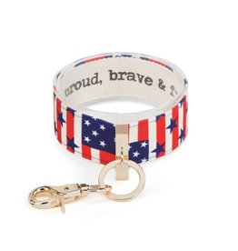 Wrist Strap - Proud, Brave & Free