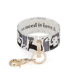 Wrist Strap - All You Need Is Love Cat