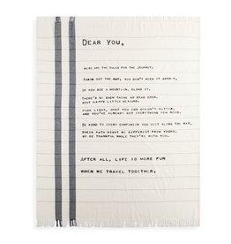 Dear You Blanket - The Journey