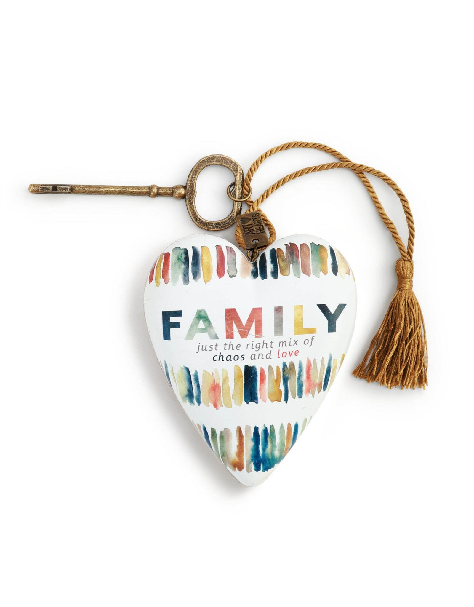 Art Heart - Family Chaos