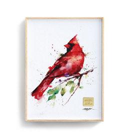 Spring Cardinal Wall Art - 8x6