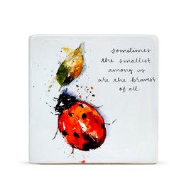 Ladybug Plaque
