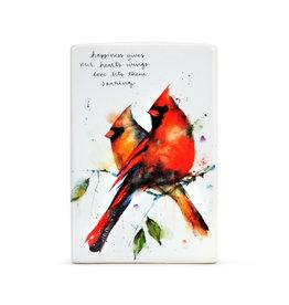 Cardinal Pair Plaque