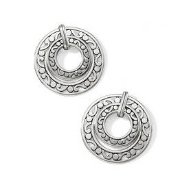 Brighton Contempo Open Ring Duo Post Drop Earrings