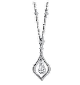 Brighton Prism Lights Short Necklace - Silver