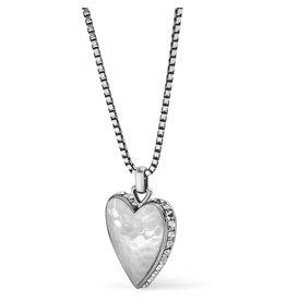 Brighton Spectrum Love Clear Necklace