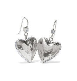 Brighton Spectrum Love French Wire Earrings - Clear