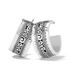Brighton Mingle Adore Post Hoop Earrings - Silver