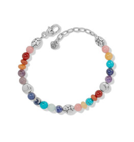 Brighton Pebble Multi Bracelet - Silver-Multi