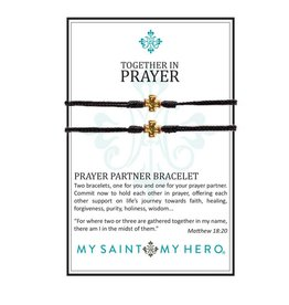 my saint my hero Together In Prayer Bracelets