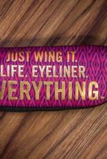 """""""Just Wing It"""" Zipper Pouch"""