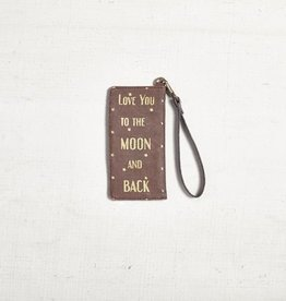 Mona B LLC To The Moon Card Case