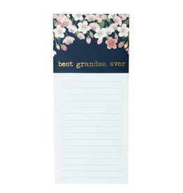 Mary Square Best Grandma Notepad