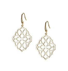 Natalie Wood Designs Believer Small Cross Earrings - Gold