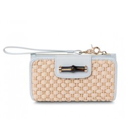 Spartina 449 Bamboo Moon Wallet - Sky