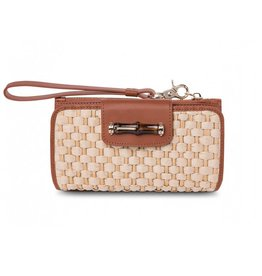 Spartina 449 Bamboo Moon Wallet Saddle