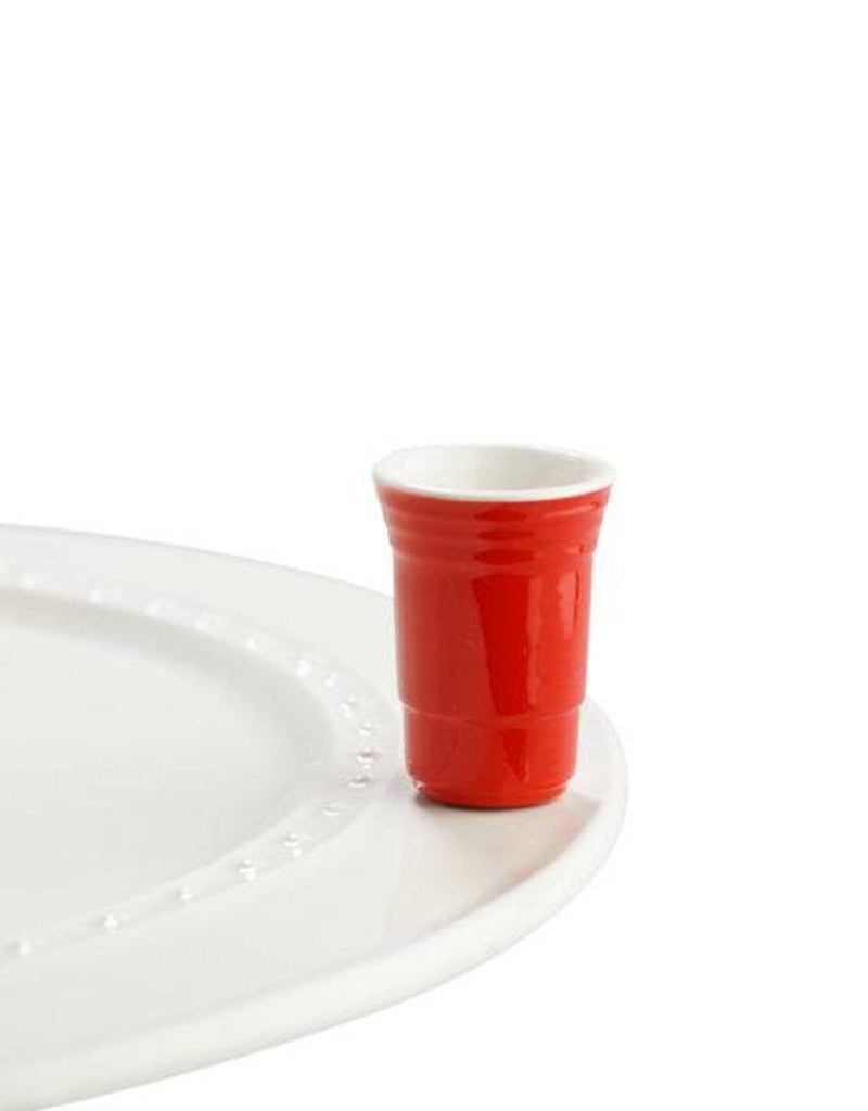 nora fleming A144 Red Cup Mini