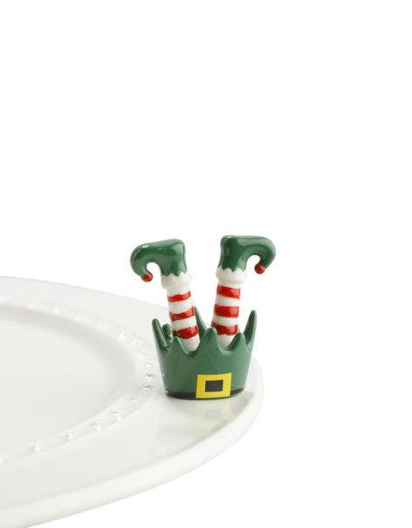 nora fleming Elf Feet Minis A143