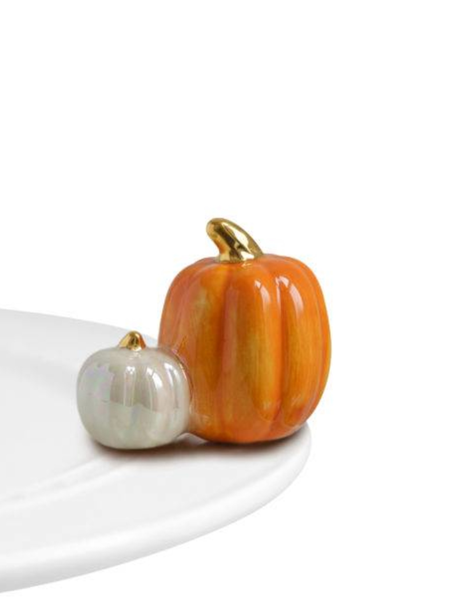 nora fleming Two Pumpkins Mini A02