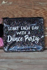 3 happy holigans Dance Party Glitter Bag