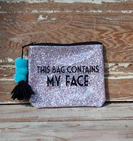 3 happy holigans My Face Glitter Bag