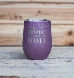 Occasionally Made 12oz Stemless Wine - Retired