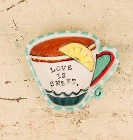 Glory Haus Love Is Sweet Teacup Dish
