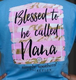 simply southern Blessed Nana Tee