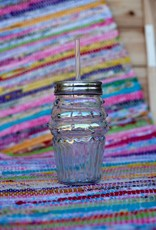 slant collection Rainbow Cupcake Mason Jar Sipper