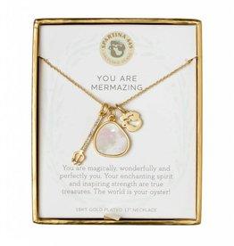 Spartina 449 Sea La Vie Charm Necklace - You Are Mermazing