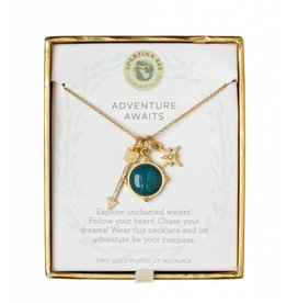 Spartina 449 Sea La Vie Charm Necklace - Adventure Awaits