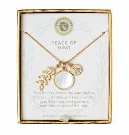 Spartina 449 Sea La Vie Charm Necklace - Peace Of Mind