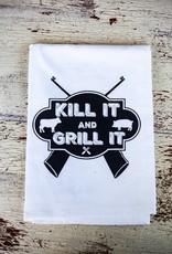 twisted wares Kill It & Grill It Towel