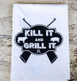 twisted wares Kill It & Grill It Towel